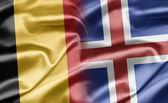 Belgium and Iceland — Stock Photo