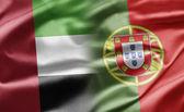 объединенные арабские эмираты и португалии — Стоковое фото