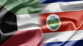 Kuwait and Costa Rica — Stock Photo