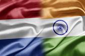 Netherlands and India — Stock Photo