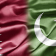 Stock Photo: Qatar and Pakistan