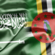 Stock Photo: Saudi Arabiand Dominica