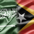Stock Photo: Saudi Arabiand East Timor