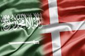 Saudi arabien und dänemark — Stockfoto