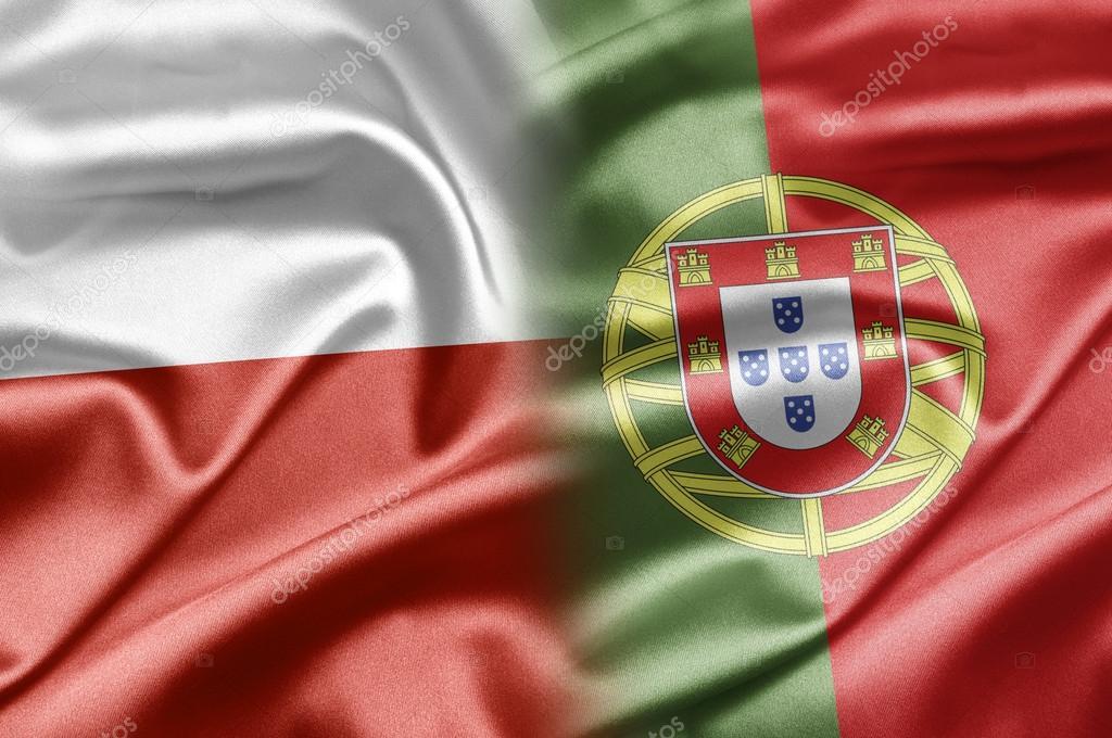 Pologne et le portugal — Photo #19952173