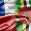 Stock Photo: Chile and Dominica