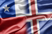 Chile and Iceland — Stock Photo