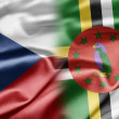 Stock Photo: Czech Republic and Dominica