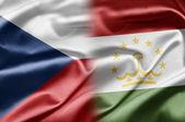 Republika czeska i tadżykistanu — Zdjęcie stockowe