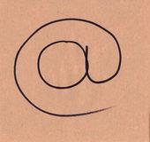 ηλεκτρονικού ταχυδρομείου — Φωτογραφία Αρχείου