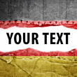 Germany flag with text space. — Stock Photo