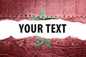 Morocco flag with text space. — Stock Photo