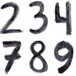 Set of grunge numbers — Stock Photo #33278673