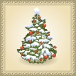 Christmas tree — Vecteur #13467421