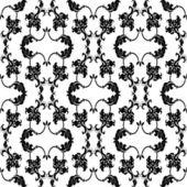 Calligraphic element seamless — Stock Vector