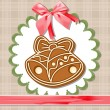 Gingerbread bells — Stock Vector