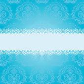 Blue square napkin — Stock Vector