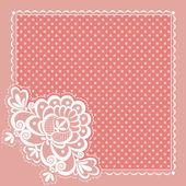 Square napkin — Stock Vector