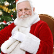 Santa with great smile — Stock Photo #12630364