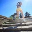 Running on sunny day — Stock Photo #12630463