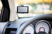 GPS - car navigation system — Stock Photo