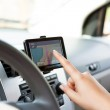 Using Navigation Device — Stock Photo #13446409