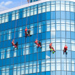 Windows cleaning service — Stock Photo