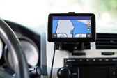 Gps auto navigator device — Stock Photo