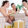 Stock Photo: Baby shower