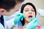 Dental examining — Stock Photo