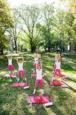 Workout women group — Stock Photo