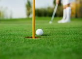 Detail of golf — Stock Photo