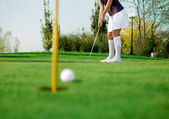 Golf — Stock Photo