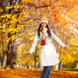 Autumn woman — Stock Photo #16943621