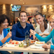 Teenagers on lunch - Foto Stock