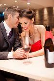 Casal apaixonado — Foto Stock
