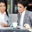 Business women in meeting  — Stock Photo