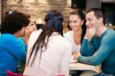 Youth conversation — Stock Photo
