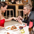 Stockfoto: Couple and special proposal