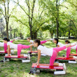 Stock Photo: Aerobic outdoor