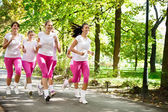 Jogging group — Stock Photo