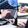 Collage of business pictures — Stock Photo #24890189