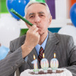 Party for 100th birthday — Stock Photo
