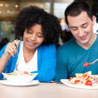 Lunch Together — Stock Photo