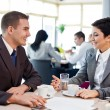 Business on meeting — Stock Photo #24894655