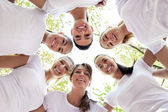 Women with heads together — Stock Photo