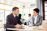 Portrait of businessmen and businesswomen — Stock Photo