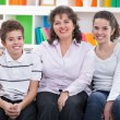 mom with her children — Stock Photo #28284059