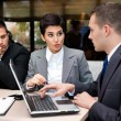 Business people having discussion — Stock Photo #28285657