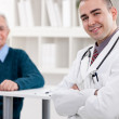 Success young doctor — Stock Photo